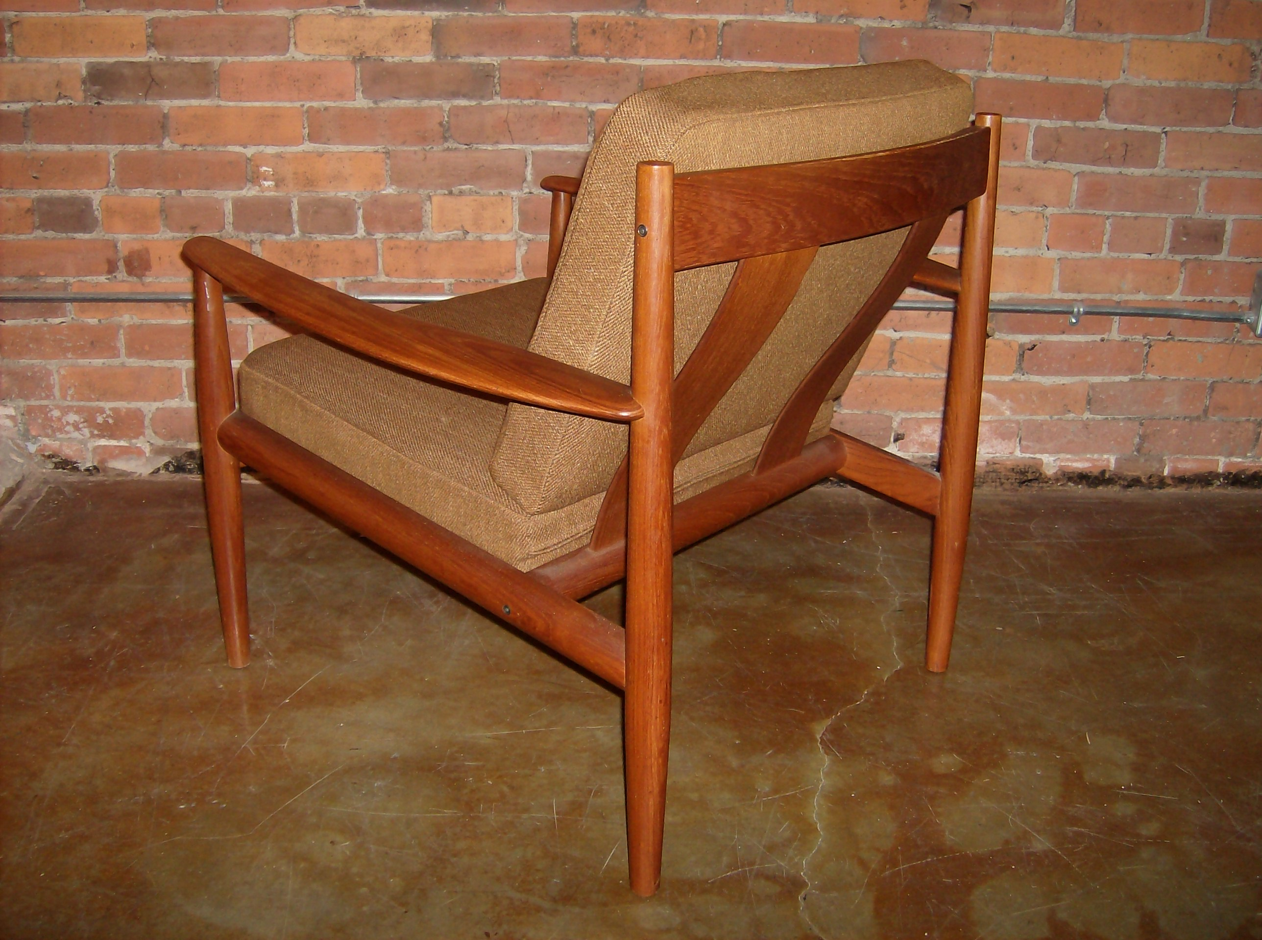 Gorgeous 1960u0027s Danish Teak Easy Chair By Grete Jalk For France And Son    Denmark